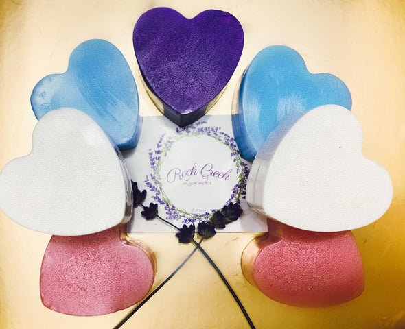 Bag of Hearts Soap