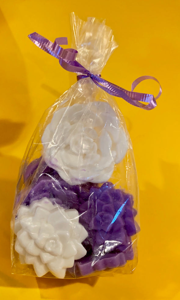 Bag of Flowers Soap