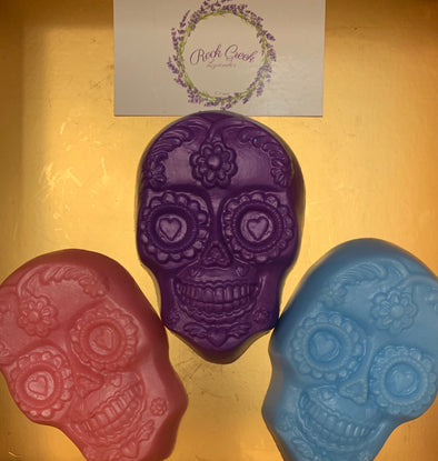 Skeleton Head Soap