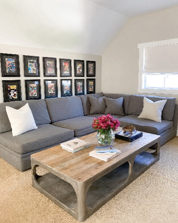 how to style a sectional couch
