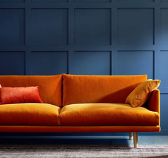 Complementary Colour palettes interior design