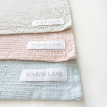 Load image into Gallery viewer, pastel blue, pink and grey wash cloths