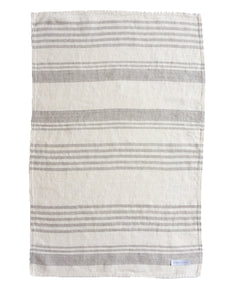 Neutral Large Tea Towel / dish Cloth in 100% Linen