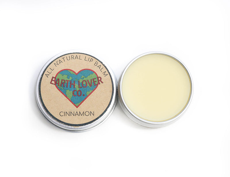 All Natural Vegan Lip Balm - Cinnamon