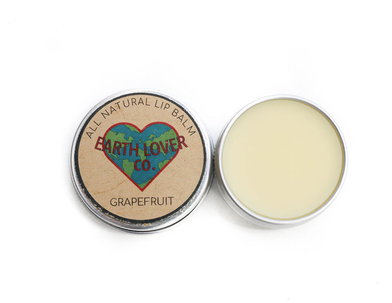 All Natural Vegan Lip Balm - Grapefruit