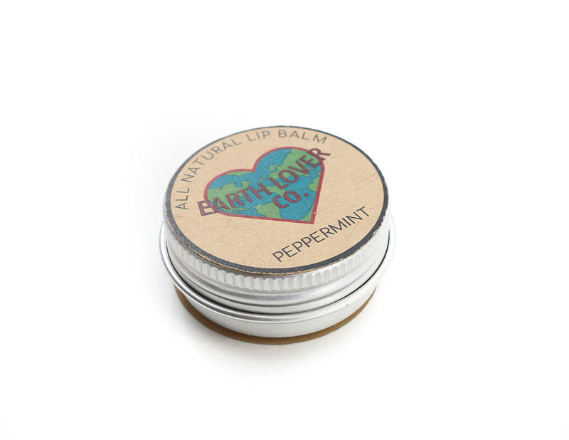 All Natural Vegan Lip Balm - Peppermint
