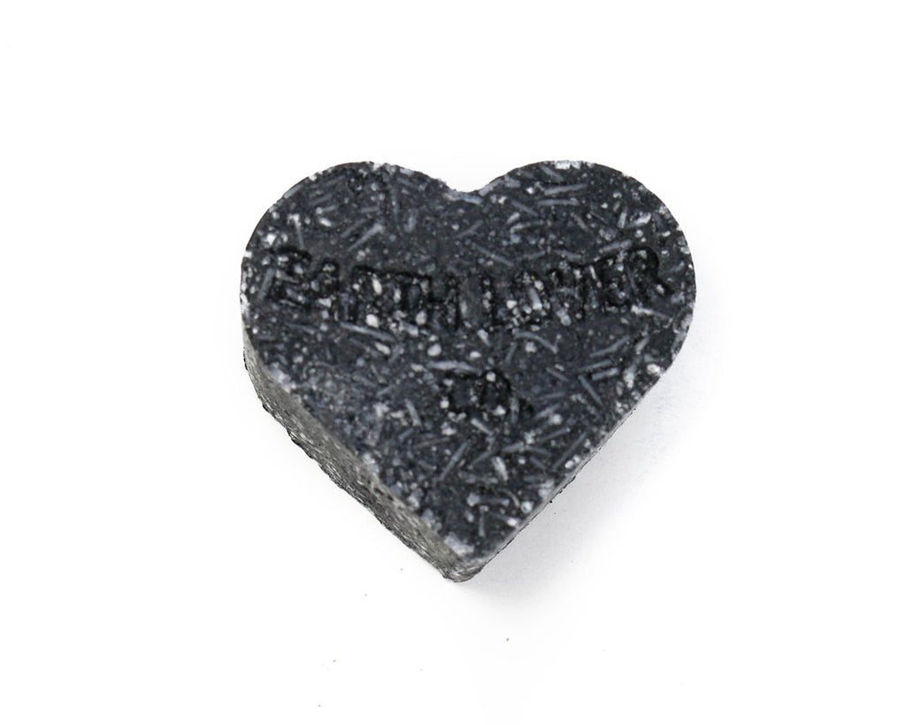 Shampoo/Body Wash Bar - Black Black Heart