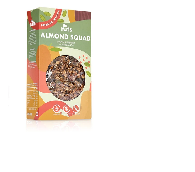 GRANOLA ALMOND SQUAD Be nuts
