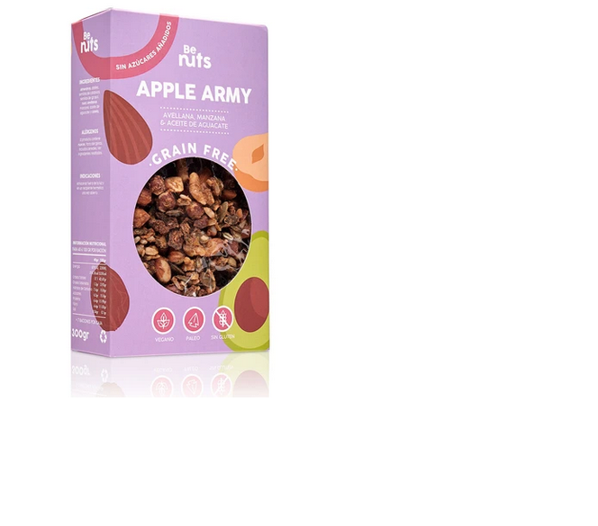 GANOLA APPLE ARMY Be nuts