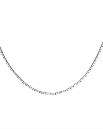 Brand New Necklace with 4ctw diamond 14K White gold