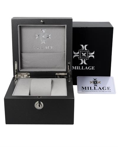 MILLAGE ML-1351526 Moscow LS Brand New Swiss Quartz date Watch