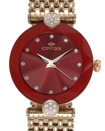 Oniss ON8777-LRGRD PARIS Brand New Swiss Quartz Watch with 0ctw crystal