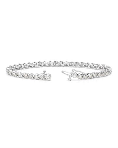 Brand New Bracelet with 3.5ctw diamond 14K White gold