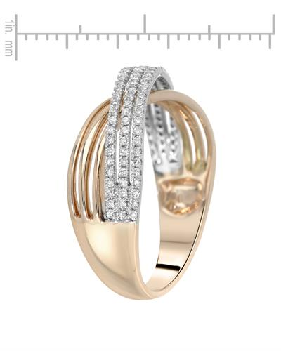 Whitehall Brand New Ring with 0.28ctw diamond 14K Two tone gold