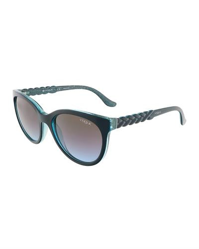 Vogue VO2915S 226048 Brand New Sunglasses  Blue plastic