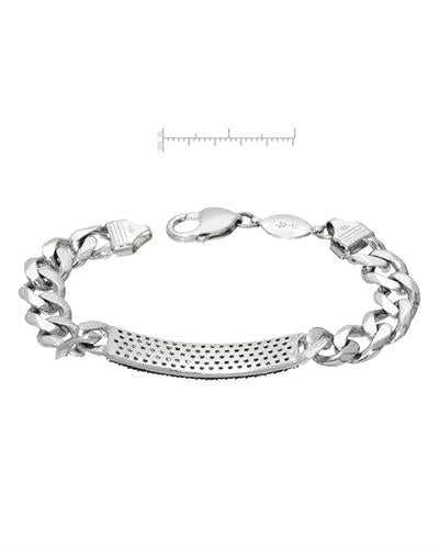 Brand New Bracelet with 3.66ctw diamond 925 Silver sterling silver