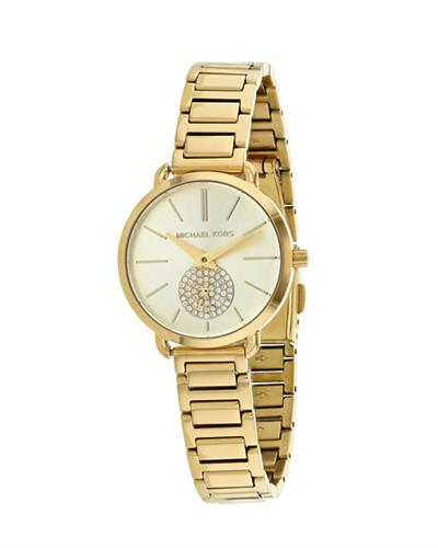 MICHAEL KORS Portia Brand New Quartz Watch with 0ctw crystal
