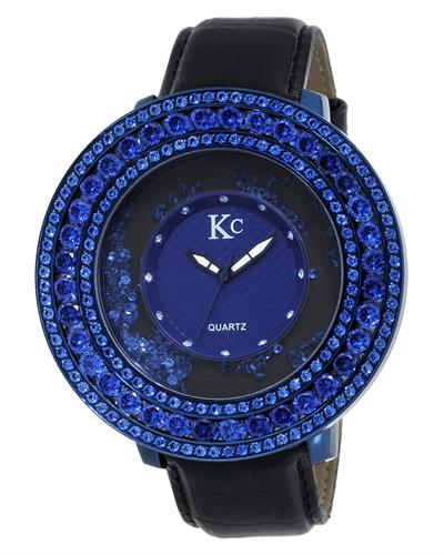KC WA009417 Brand New Quartz Watch with 0ctw cubic zirconia