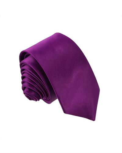 Victorio Brand New Tie  Purple Fabric