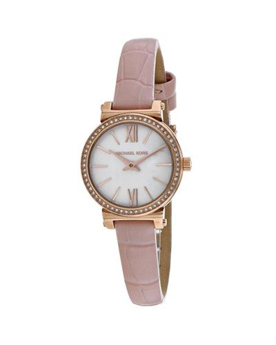 MICHAEL KORS Sofie Brand New Quartz Watch with 0ctw crystal