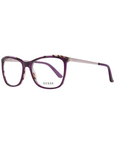 Guess GU2641 54083 Brand New Eyeglasses  Purple metal and  Purple plastic