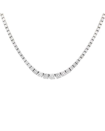 Brand New Necklace with 4.5ctw diamond 14K White gold