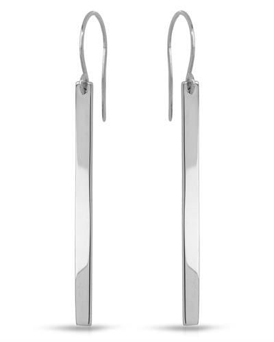 Millana Brand New Earring 14K White gold