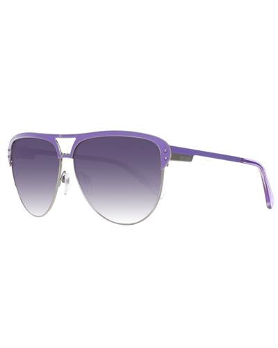 Just Cavalli JC324S 6114B Brand New Sunglasses  Purple metal