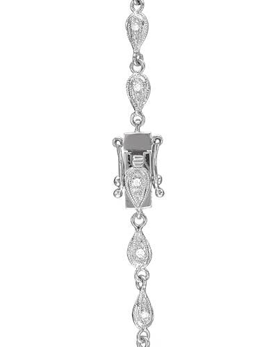 Brand New Necklace with 1.45ctw diamond 18K White gold