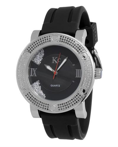 KC WA006346 Brand New Japan Quartz Watch with 0.7ctw of Precious Stones - crystal, diamond, and diamond