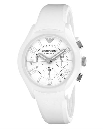 Armani AR1431 Ceramica Brand New Quartz date Watch