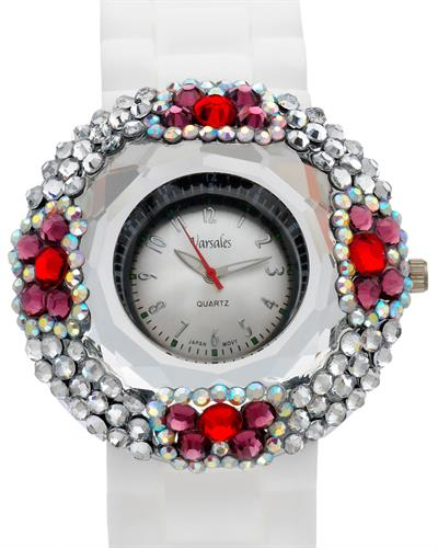 Varsales V4862-4 Brand New Quartz Watch with 0ctw crystal