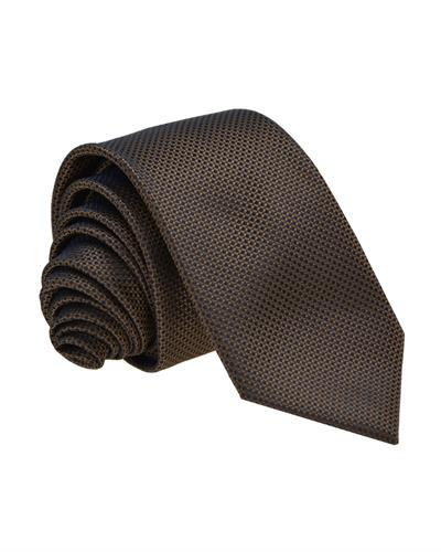 Victorio Brand New Tie  Brown Fabric