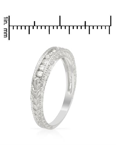 Brand New Ring with 0.15ctw diamond 10K White gold