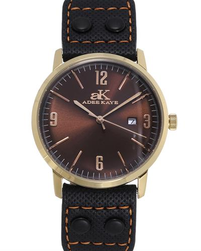 Adee Kaye AK8224-LGBL Brand New Japan Quartz date Watch