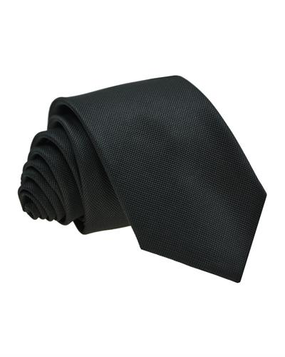 Victorio Brand New Tie  Black Fabric