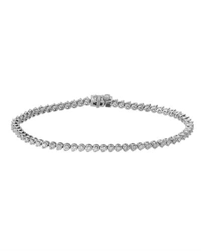 Whitehall Brand New Bracelet with 1.2ctw diamond 14K White gold