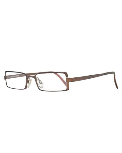 Rodenstock R4702 D Brand New Eyeglasses  Brown metal
