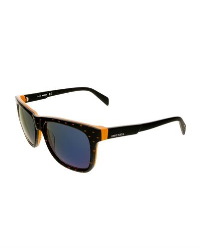 Diesel DL0136/S 44X Brand New Sunglasses  Two tone plastic
