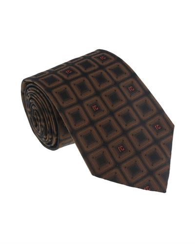 Roberto Cavalli ESZ033 03503 Brand New Tie  Brown Silk