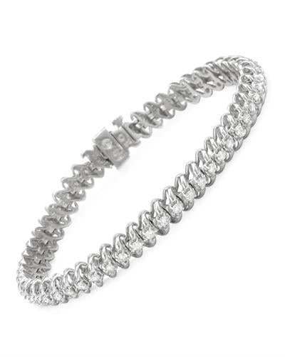 Brand New Bracelet with 2ctw diamond 14K White gold