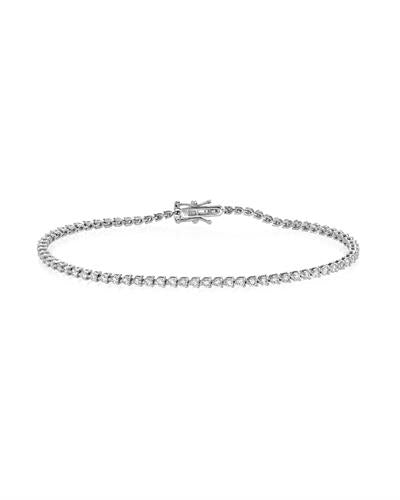Julius Rappoport Brand New Bracelet with 1.5ctw diamond 18K White gold