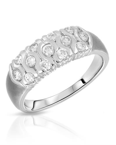 Whitehall Brand New Ring with 0.41ctw diamond 18K White gold