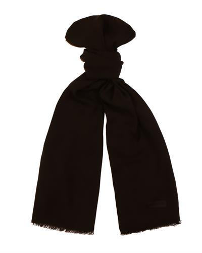 Moschino MOPSM0001/11 Brand New Scarf  Black Viscose