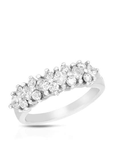 Brand New Ring with 1ctw diamond 14K White gold