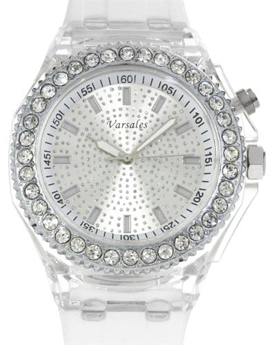 Varsales V4450-4 Brand New Quartz Watch with 0ctw crystal