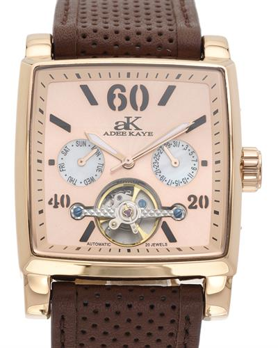Adee Kaye ak9043-MRG Brand New Automatic day date Watch