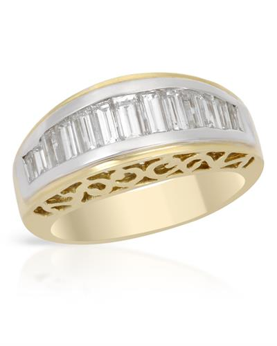 Brand New Ring with 1.45ctw diamond 18K Yellow gold