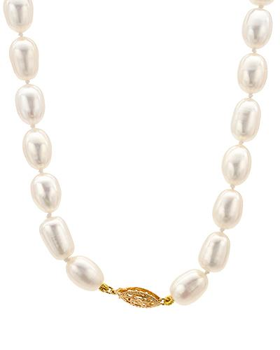 PEARL LUSTRE Brand New Necklace with 0ctw of Precious Stones - pearl and pearl 14K Yellow gold