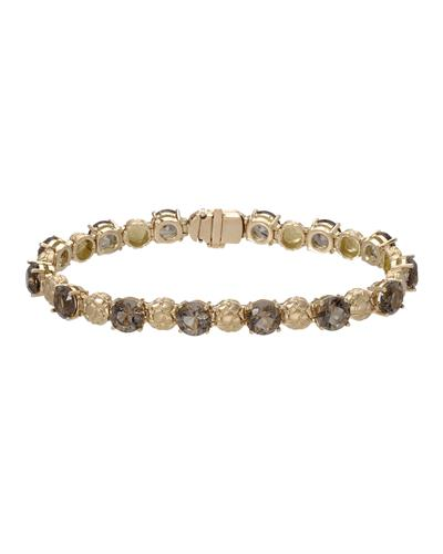 HELLMUTH Brand New Bracelet with 16.8ctw quartz 18K Rose gold
